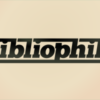 48 of 365: bibliophile custom typography by John LeMasney via lemasney.com