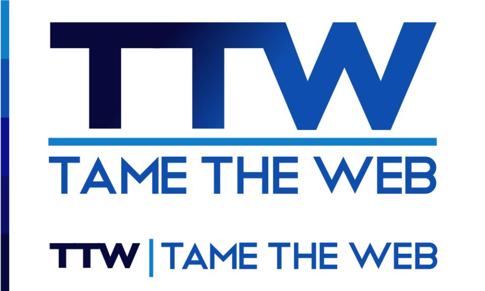 Tame The Web logo rev2 by John LeMasney via lemasney.com