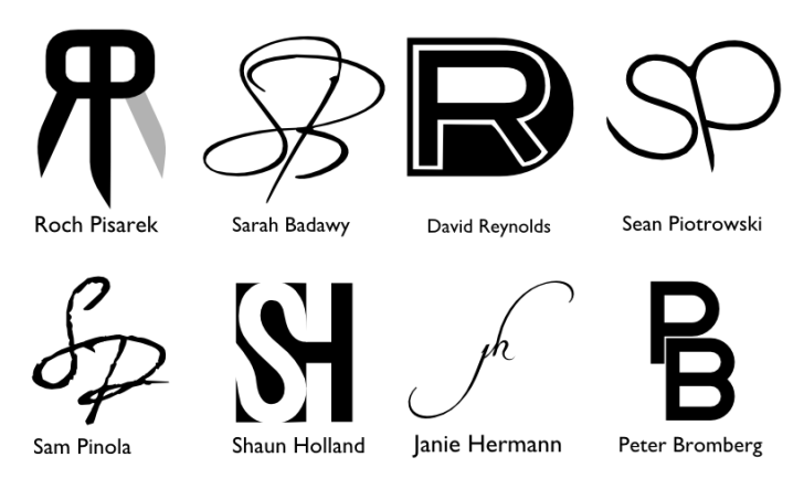 Monograms for friends