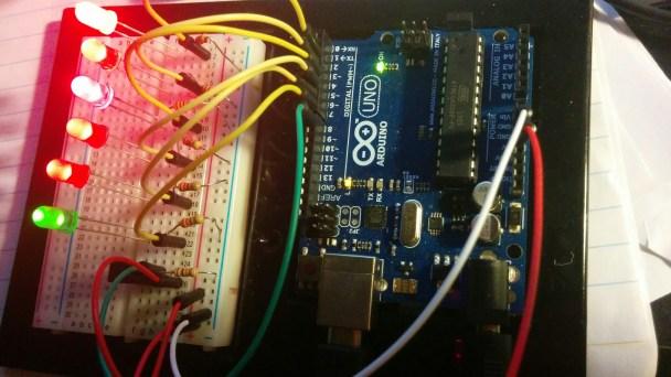 Arduino Five Ten Egg Timer circuit - John LeMasney
