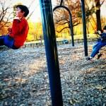 Boys swinging in Waynesboro, VA by lemasney