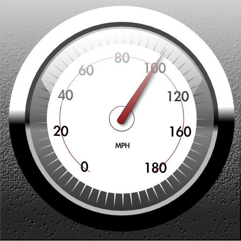 Speed gauge by lemasney