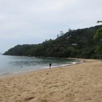 Praia Vermelha em Ubatuba, refúgio em meio a natureza