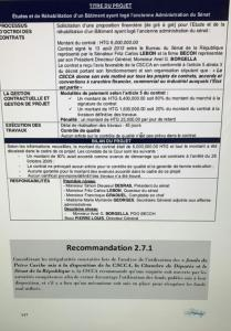 PetroCaribe : La CSC/CA lève le voile sur le Sénat de la République 1
