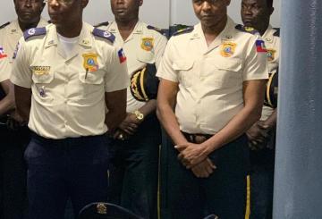 Haïti-Sécurité : Mario Aubergiste installé à la tête de la Police Administrative 8