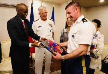 Haïti-USNS Comfort : Remerciements du Chef de l'État au gouvernement américain 3