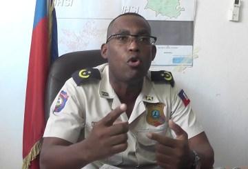 Jean Gospel Monélus nouveau responsable du Commissariat de Delmas 7