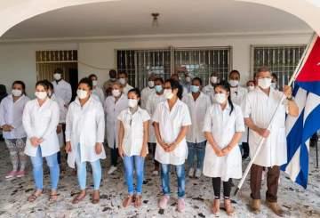 Coronavirus: 348 médecins et infirmiers cubains au service d'Haïti 1