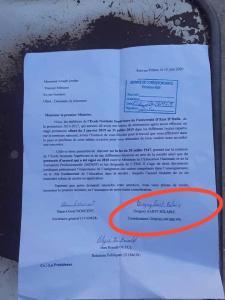 Décès-Université : Découverte d'une troublante correspondance de Grégory Saint-Hilaire 1