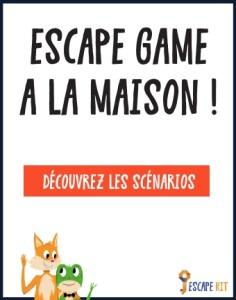 escape game a la maison