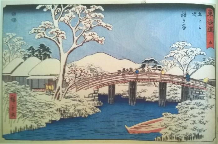 la-riviere-katabira-et-son-pont-pres-de-l'etape-hodogaya-hiroshige