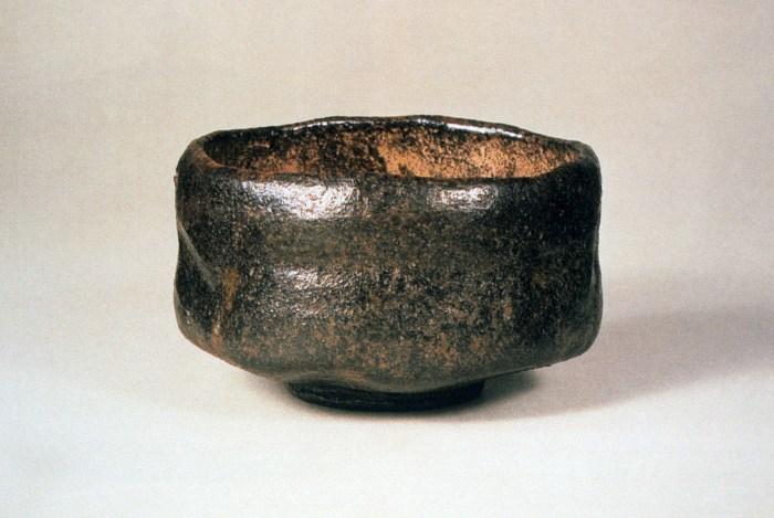 chojiro bol de thé en raku le melting potes