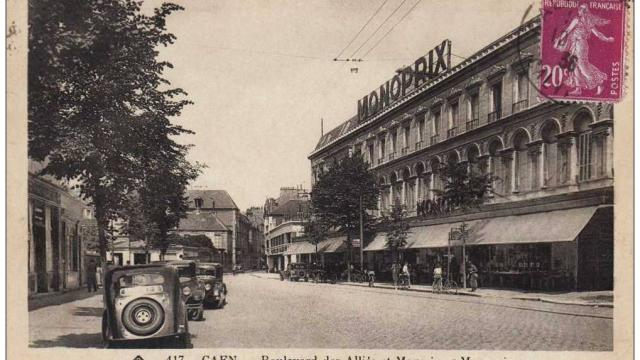 monoprix caen 1934