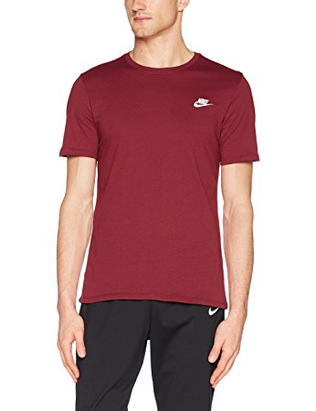 nike tee shirt bordeaux