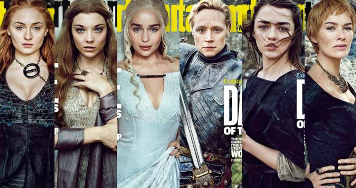 Femmes fortes Game of Thrones