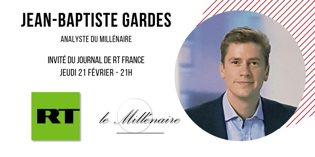 Jean-Baptiste Gardes, Secrétaire général adjoint du Millénaire, invité d'Open Mic le 21 février