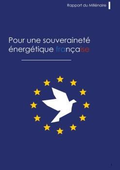 POUR UNE SOUVERAINETE ENERGETIQUE FRANÇAISE (glissé(e)s)