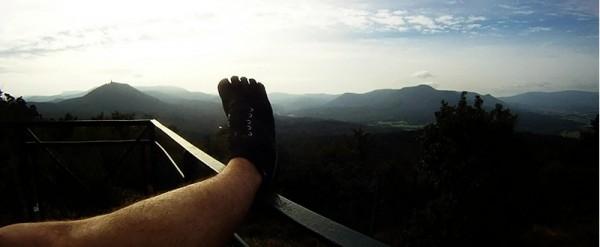 Trail en chaussures minimalistes