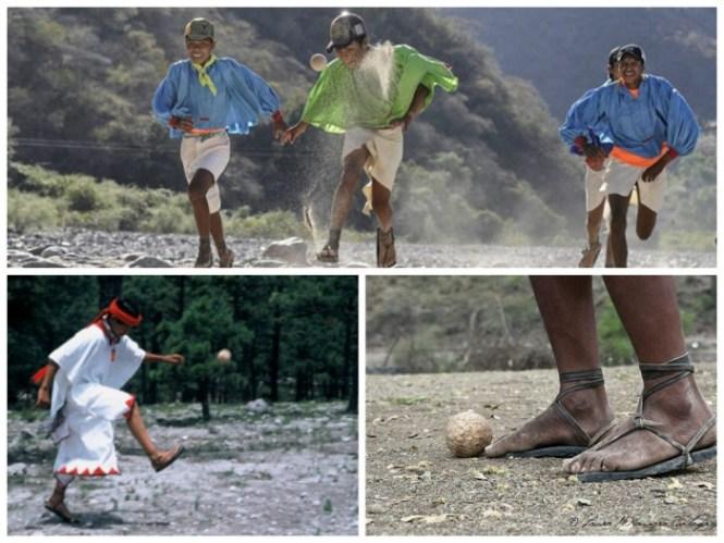 Tarahumaras playing