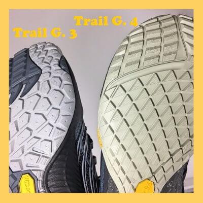 Semelle chaussures minimalistes Merrell Trail Glove
