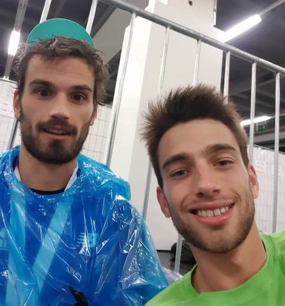 Mes V-Run lors du marathon de Francfort