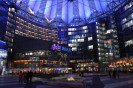 A view of the futuristic Sony Center, home of the modern Berlinale!