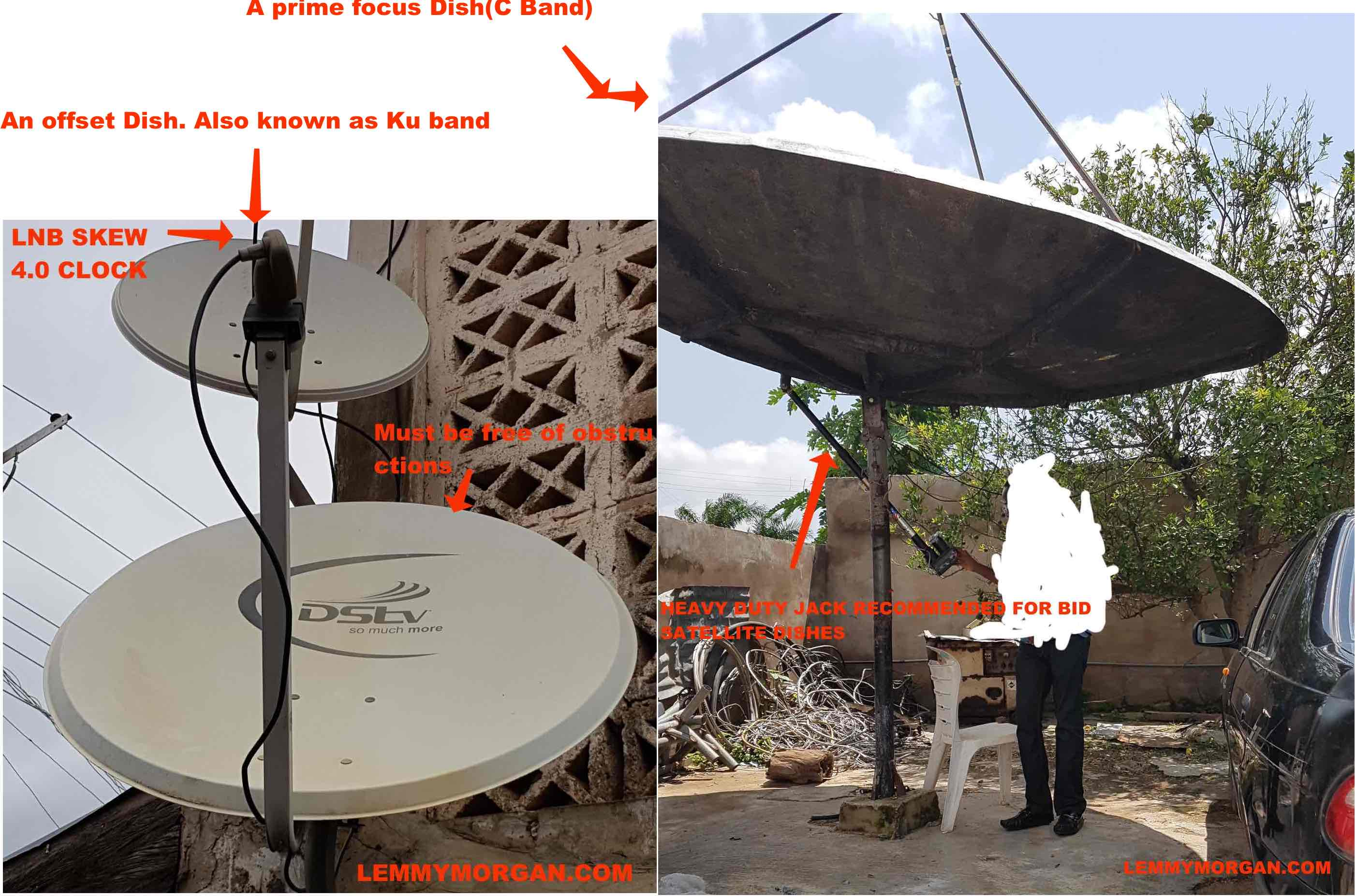 Set up satellite dishes yourself 20