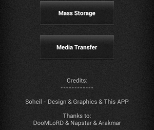 SD Mounter_android app for xperia