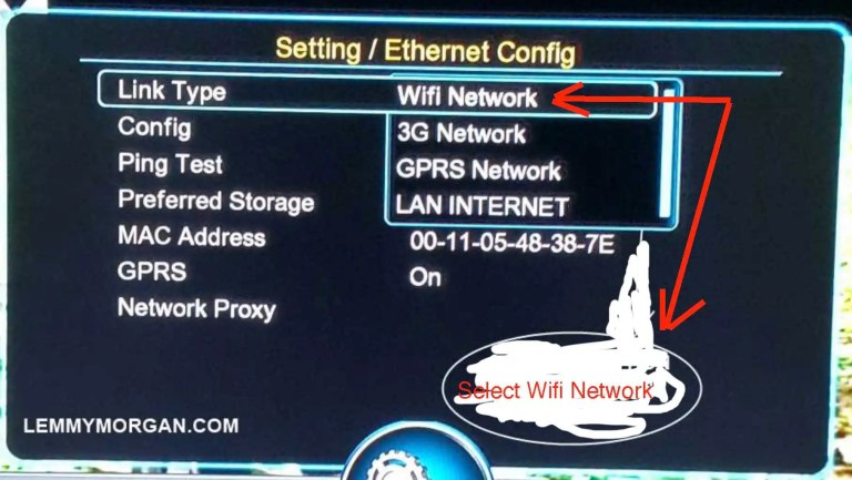 Connect Satellite Decoders to the internet-Tips Works with all Types