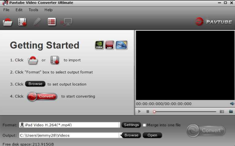 convert and play recorded pvr