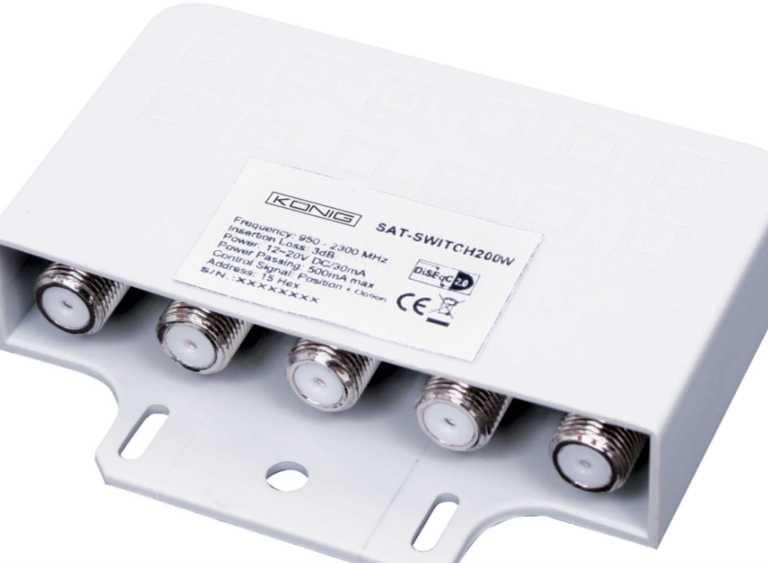 4 way DiSEqC Switch