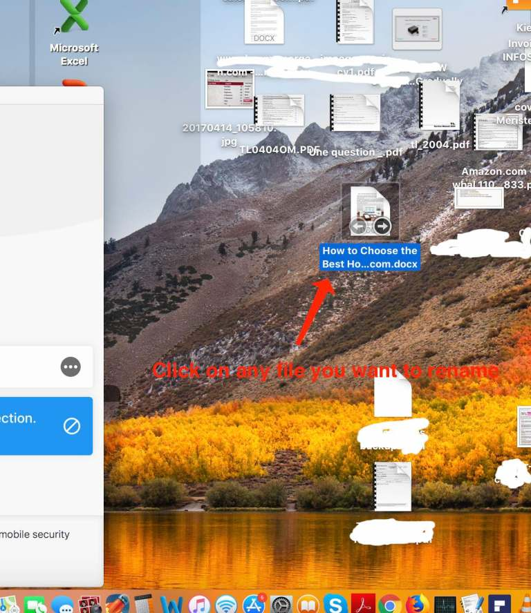 steps to Rename A File Extension on Mac High Sierra