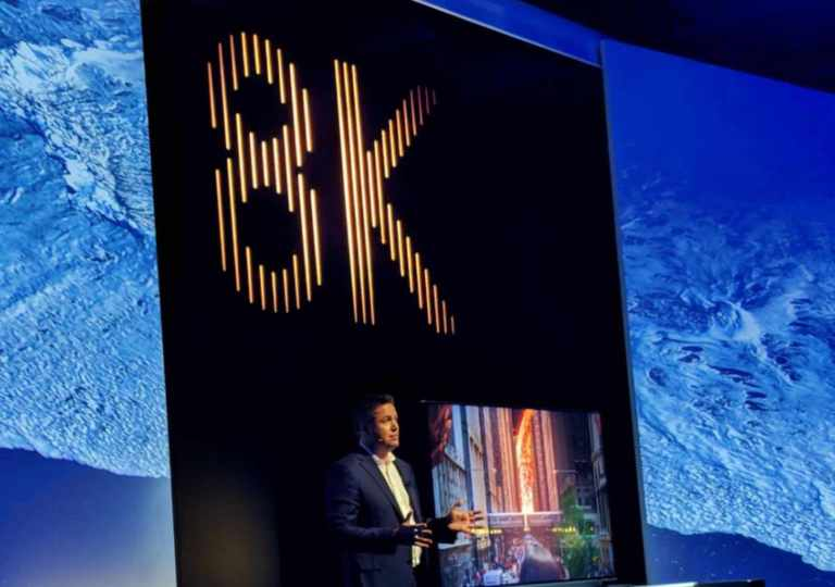 Samsung's 8K TV Display resolution