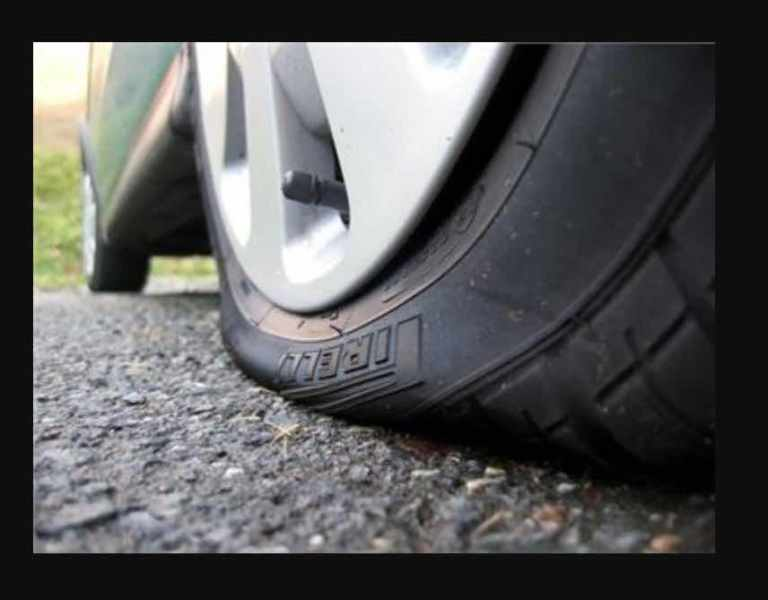 Dangers of driving with under-inflated tire