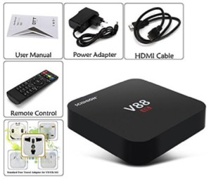 V88 ANDRIOD TV BOXES (1GB RAM/8GB ROM)