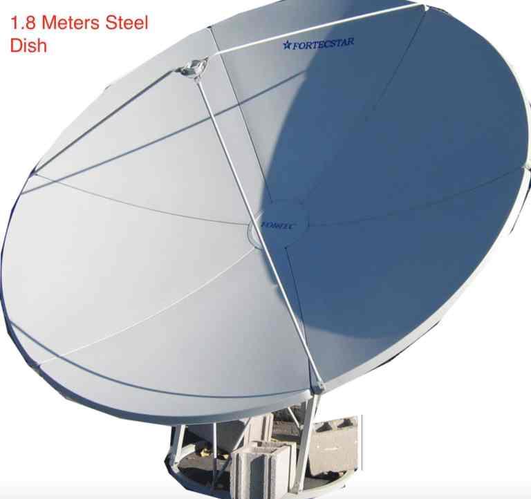 180cm steel dish ground mount