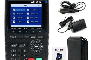Satlink ws-6916 HD sat finder