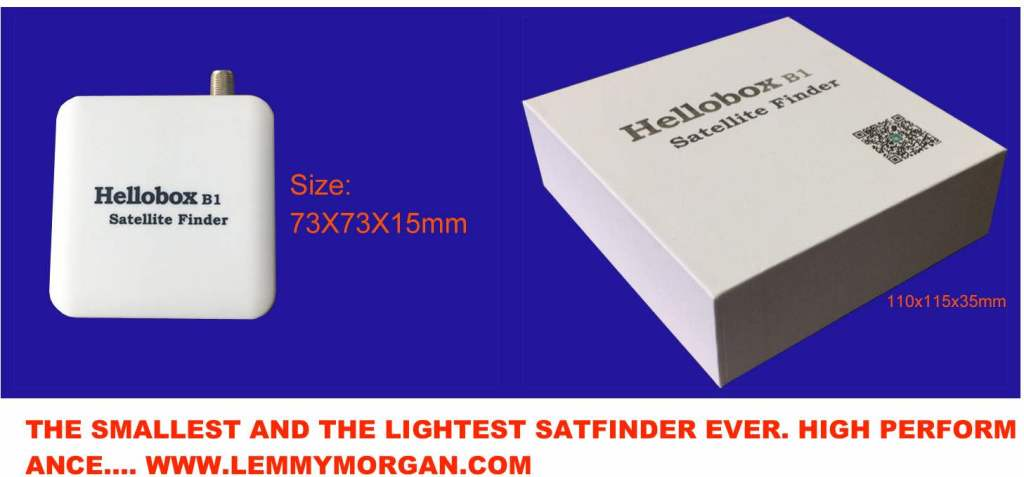 Hellobox B1-Bluetooth Satellite Finder