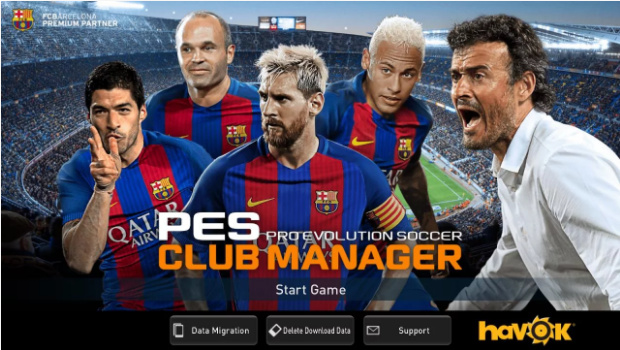 pes club manager 2017