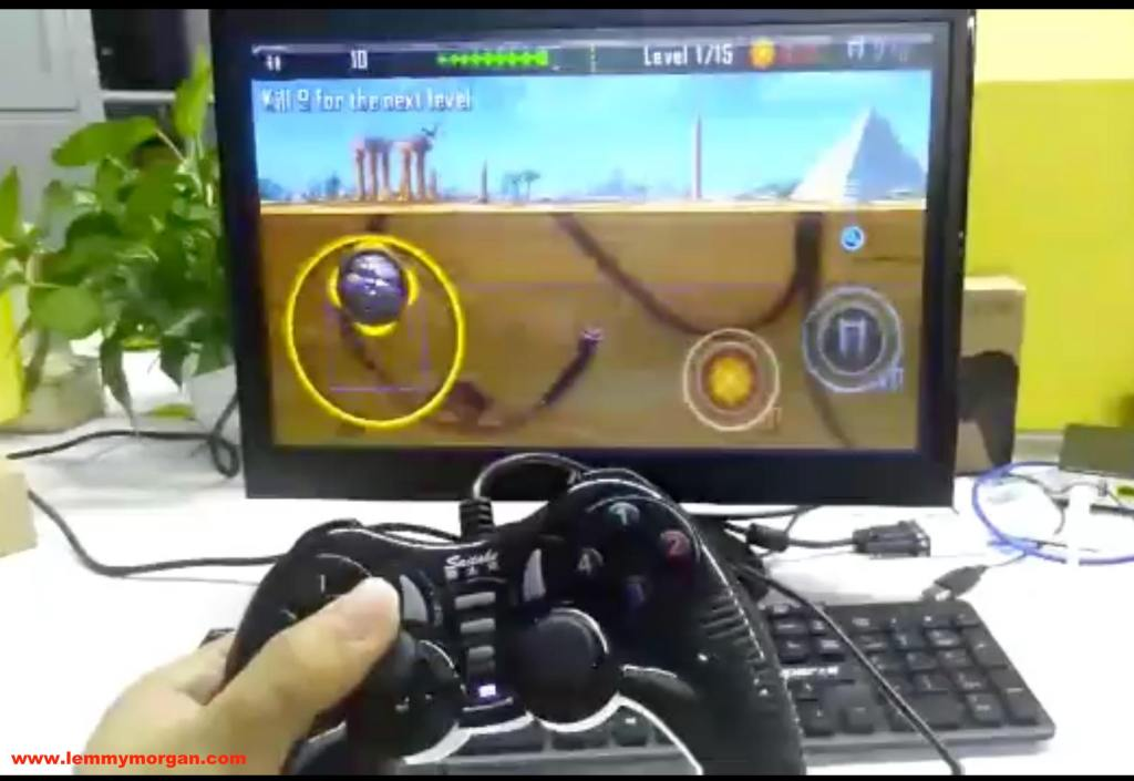Android devices mapped gamepad