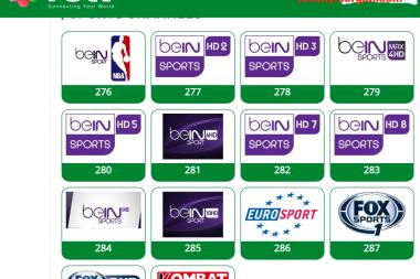 full TSTV africa sports channels