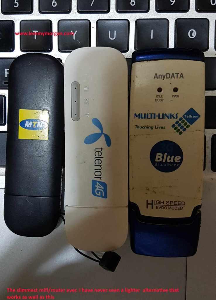 Huawei USB modem plus MiFi combo