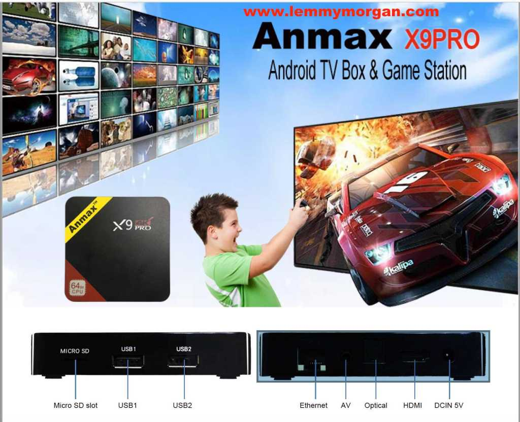 Anmax x9PRO Android box