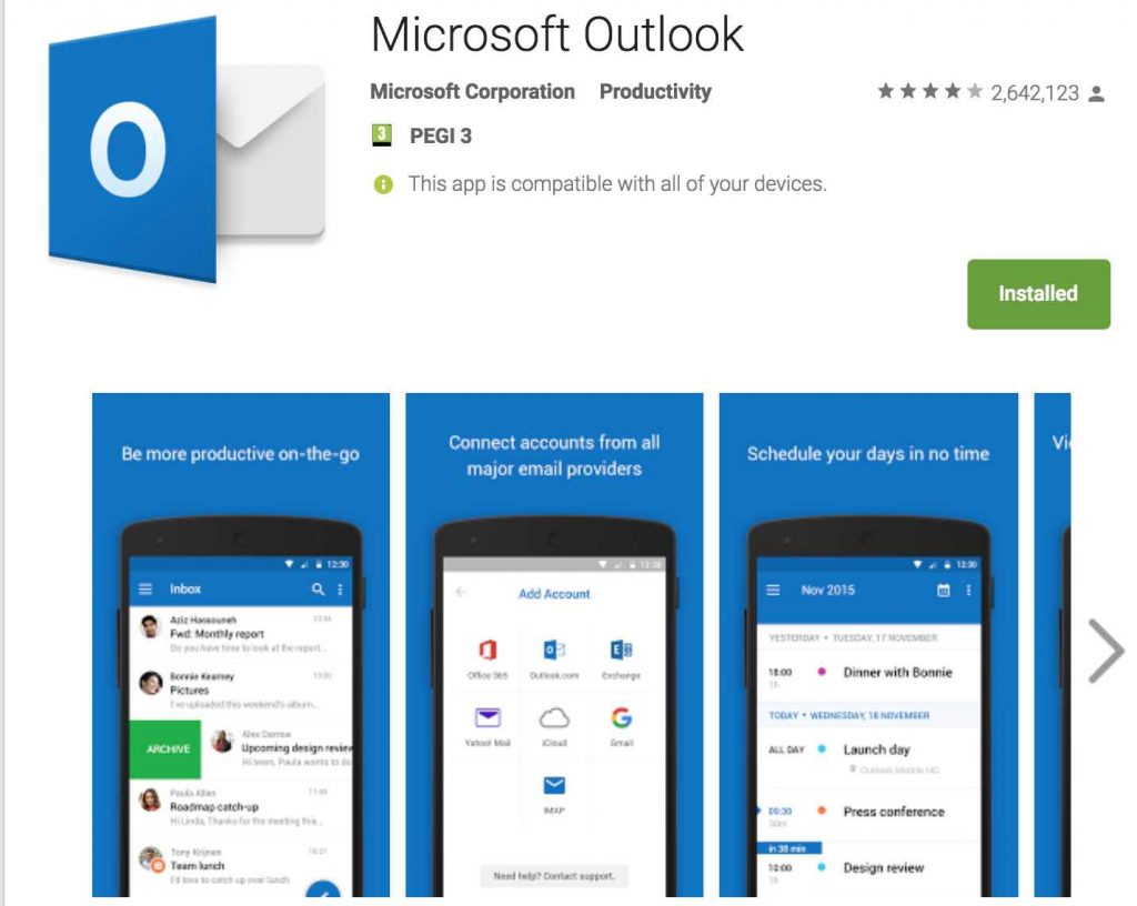 How outlook app can kill your android battery