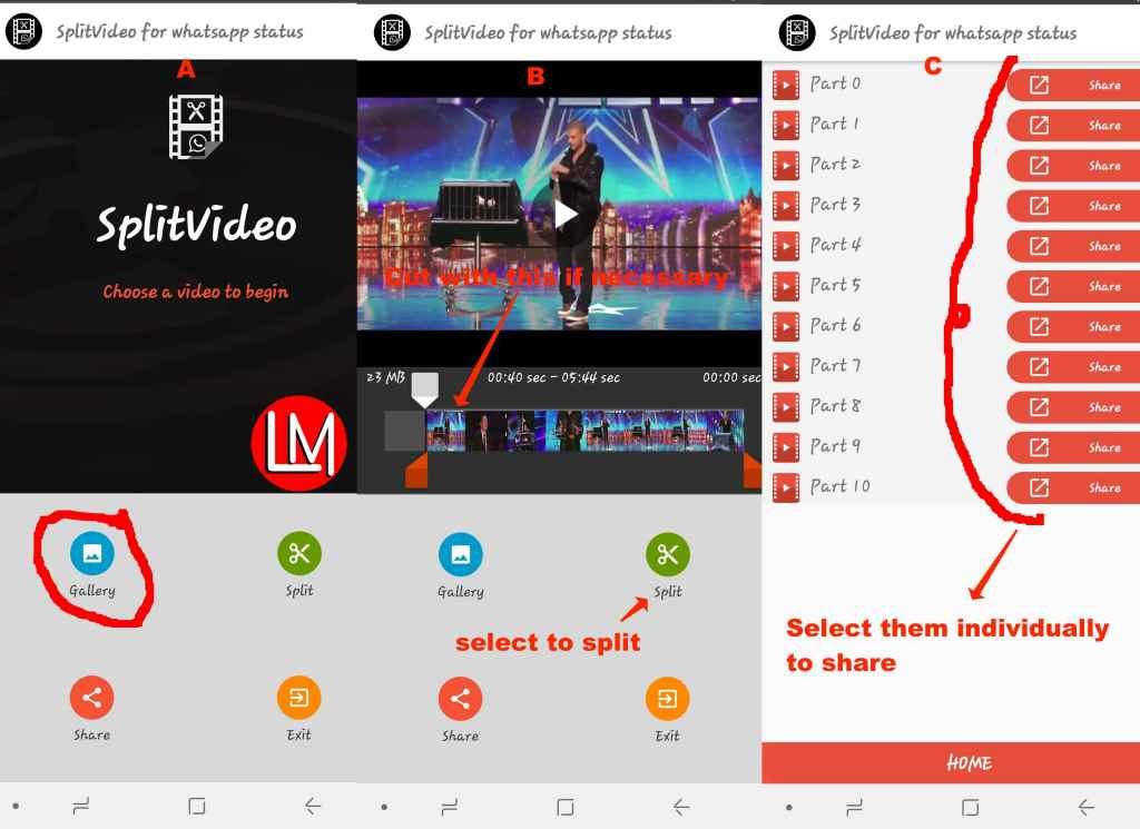How to use_splitVideo_for_WhatsApp_Status