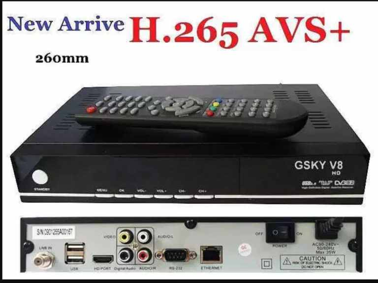 GSKY V8 HD DVB3:S2
