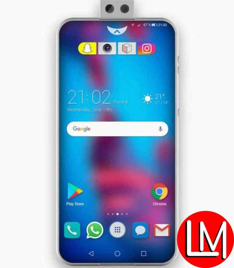 Huawei P30 hardware specification: Screen size and resolution
