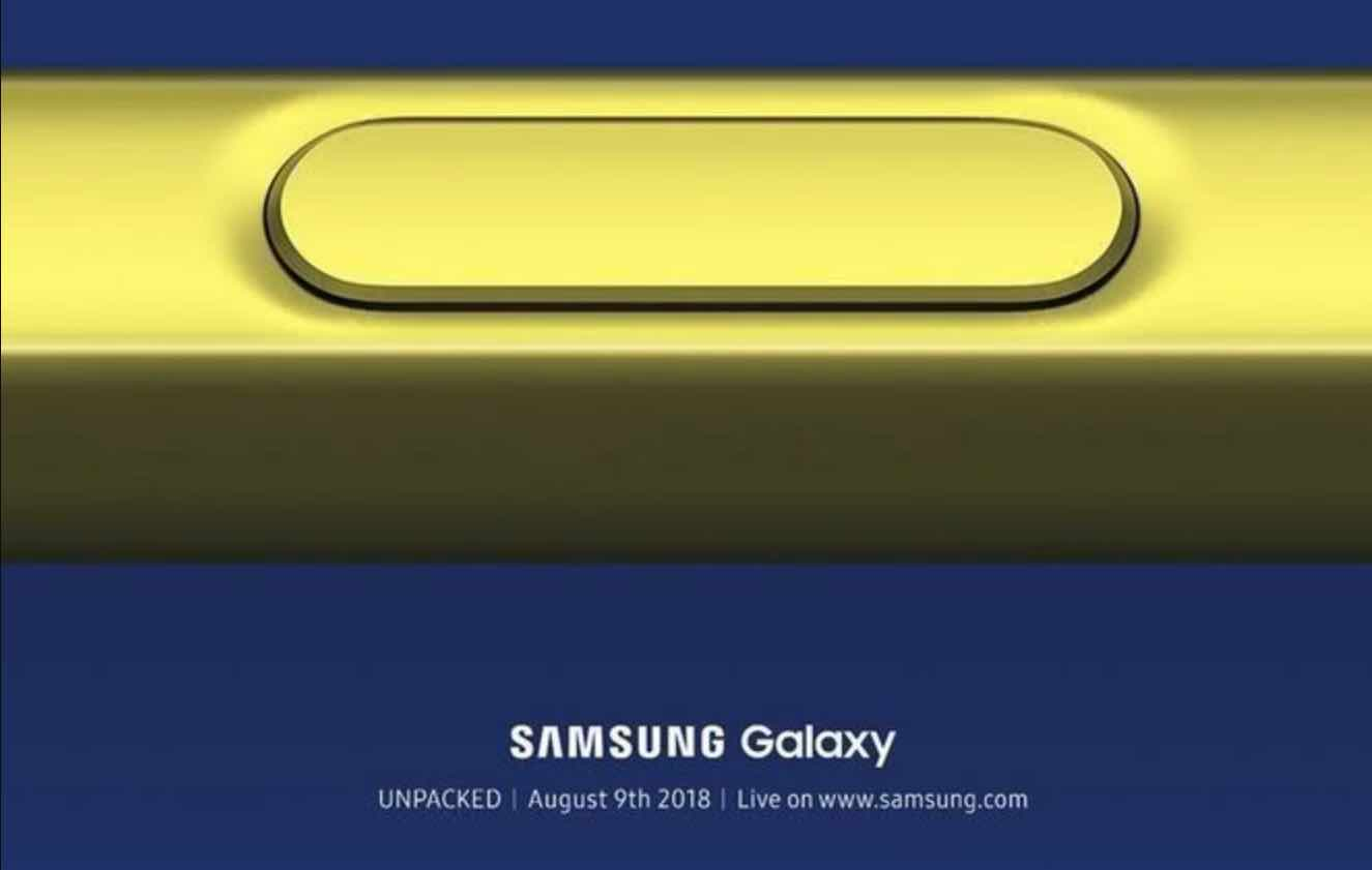 Samsung Note9 Final Specification Exposure: Debuts with Stormy S Pen+ New Camera Algorithm