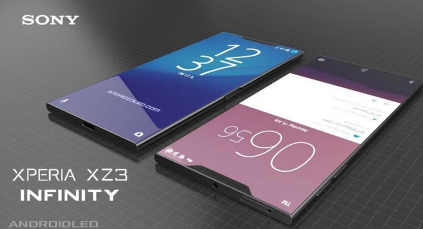 Sony latest flagship leaked, is this the Xperia XZ3 Infinity?: The new machine equipped with Xiaolong 845, 6gb+128GB storage a comeback that is worth it
