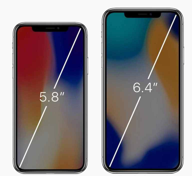 iPhone september 2018 new screen sizes